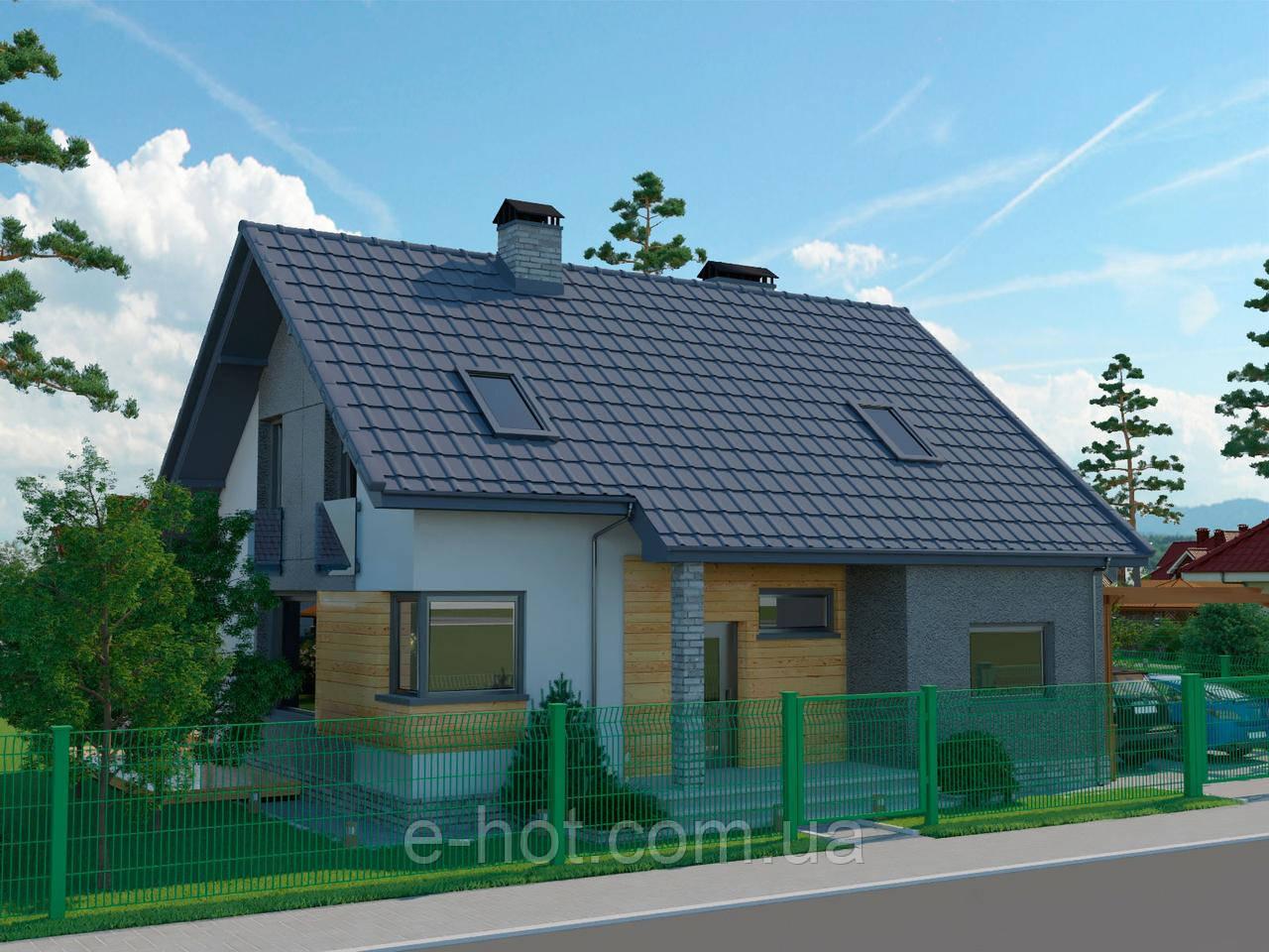 Проект дома, Дом журавли 141м2