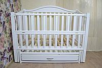 Дитяче ліжко Римськє - Біле