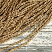 Бечевка, шнур натуральный крученный 40357-01 (0,4 см,10 м)