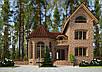 Проекты домов, Дом клинкер 400м2, фото 2