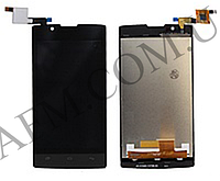 Дисплей (LCD) Fly FS401 Stratus 1 с сенсором оригинал
