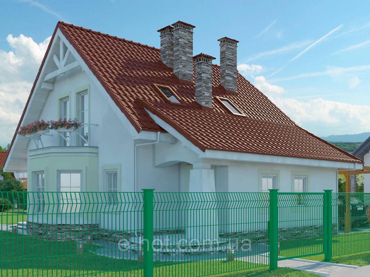 Проект дома, Дом мандарин 135м2