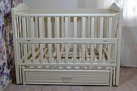 Дитяче ліжко Ведмедик - Слонова Кість