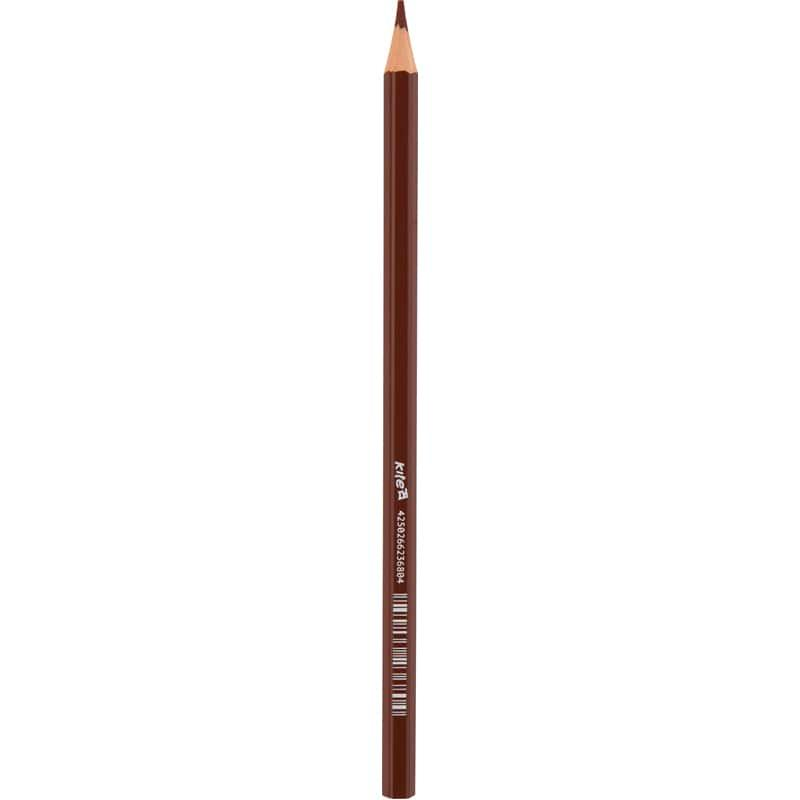 Карандаш цветной Kite, коричневый K17-1051-19
