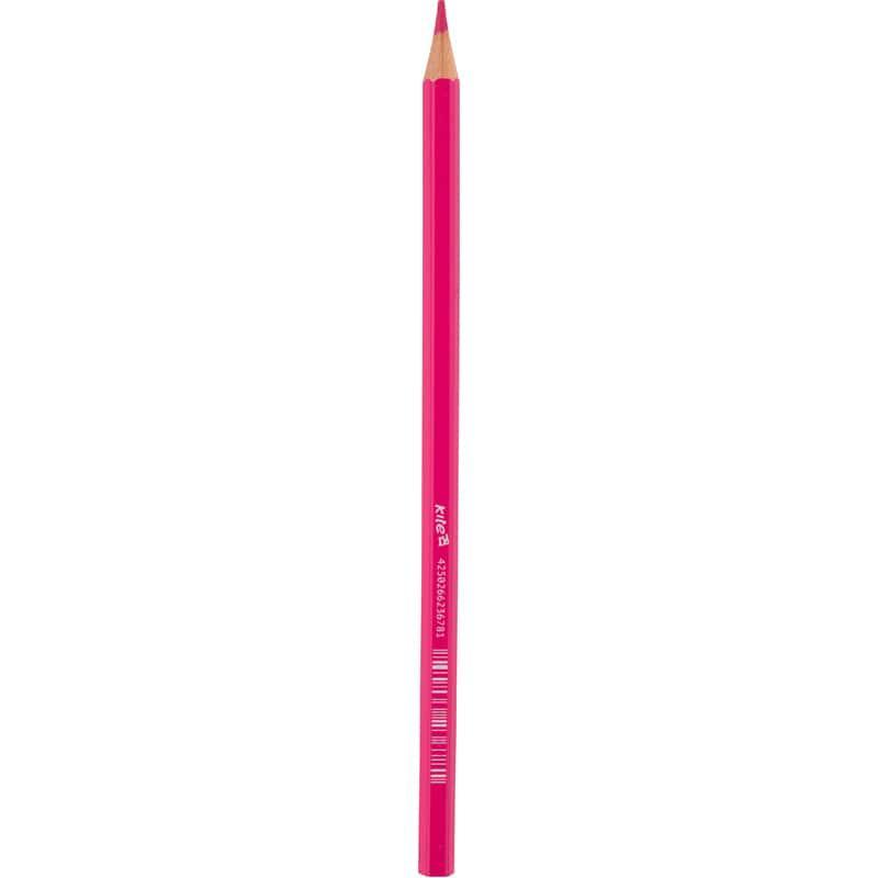 Олівець кольоровий Kite, рожевий K17-1051-10