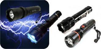 Фонари, фонари для охраны, лазеры
