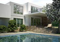 Проекты домов, Дом хай-тек  270м2