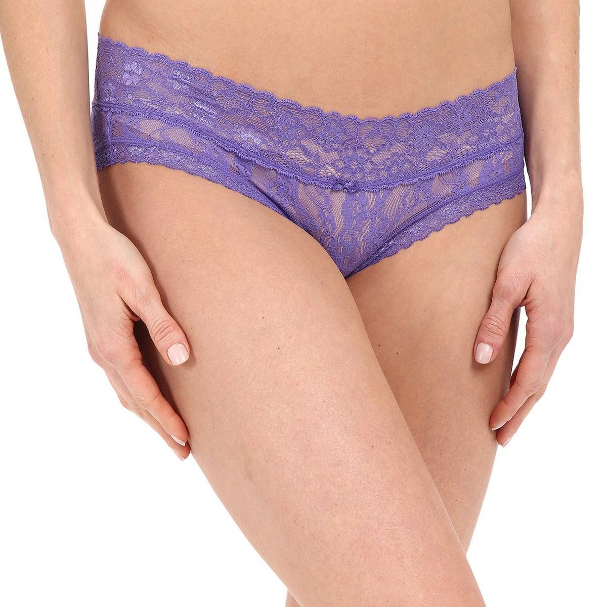 Трусики DKNY Lace Bikini, Purple