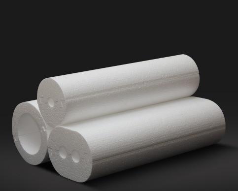 Утеплитель для труб, теплоизоляция труб диаметром 16 мм, толщина 30 мм, ПСБ-С-35