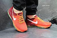 Кроссовки мужские Nike Zoom All Out оранжевые с бордовым