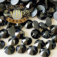 Стразики Xirius Crystals, цвет Jet Hematite, ss20 (4.6-4.8mm), 100шт (горячей фиксации)