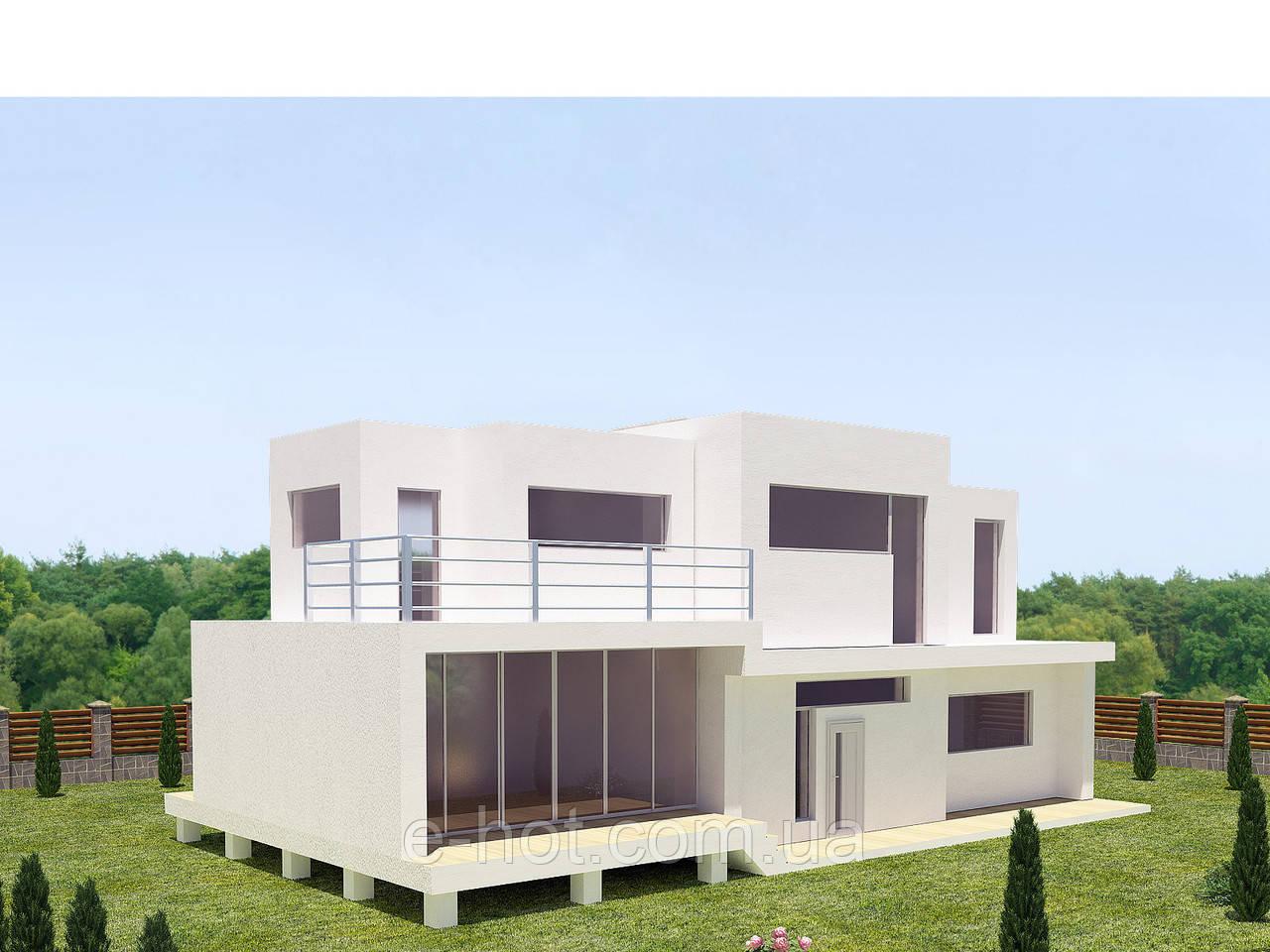 Проекты домов, Дом хай-тек 315м2