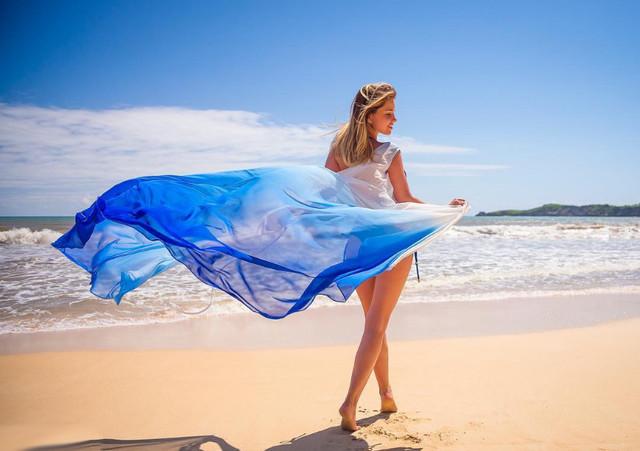 Пляжная туника Empire Of Summer I can fly омбре в интернет-магазине www.qvant.com.ua 0936562422