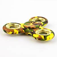 Спиннер пластиковый камуфляж зеленый Spinner plast 024-R