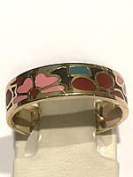 Кольцо с эмалью ювелирная бижутерия