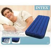 Матрасы надувные  INTEX,  разные размеры 137х191х22 см