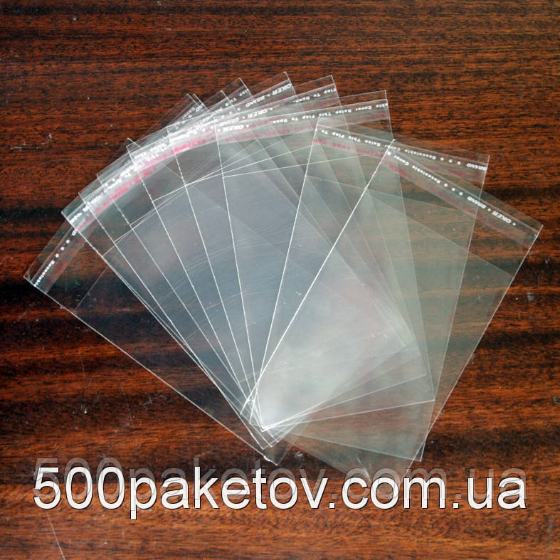 Пакет к/л 22x11см (с клапаном и кл.л.)