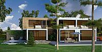 Проект дома, Дом хай-тек 370м2