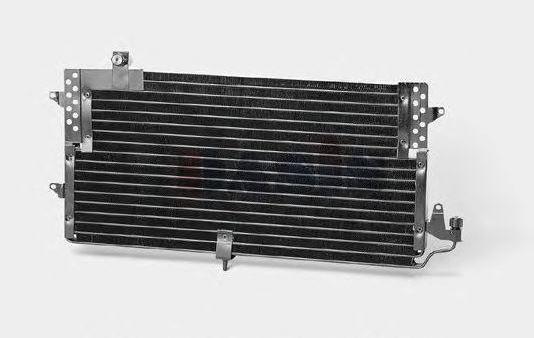 Радиатор кондиционера Volkswagen Passat 1988-1996 (без осушителя) 660*330мм по сотах