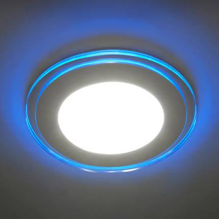 Светодиодная панель Feron AL 2660 16W 4000K син. подсветк. круг  Код.57684, фото 2