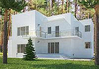 Проекты домов, Дом хай-тек А 270м2