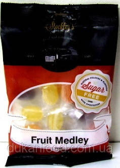 Леденцы без сахара Фрукты Медлей,  Stockley's