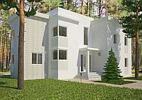 Проект дома, Дом хай-тек В 270м2