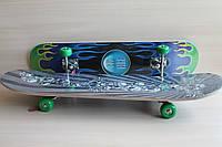 Большой скейтборд классической формы размер 60 см