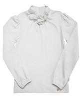 Блуза - гольф для девочки 114360/114361 белый