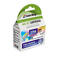 Картридж ColorWay для Epson 17 / 17 XL Yellow