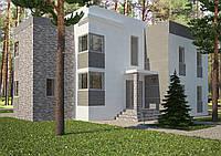 Проект дома, Дом хай-тек С 270м2