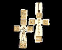 Золотой крестик Итальянский