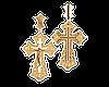 Золотой крестик Православный