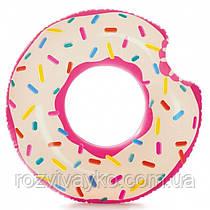 Надувной круг Пончик Intex 56265