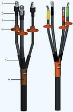 Муфта кабельная концевая 4КНТп-1-70/120, 0,4-1 кВ наружной установки