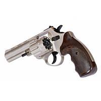 Револьвер под патрон Флобера Trooper 45  никель, фото 1