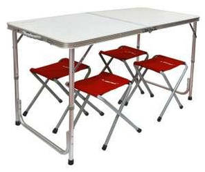 Туристический стол + 4 стула Libao