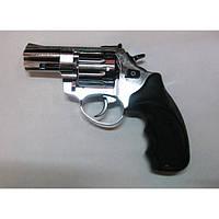 Револьвер под патрон Флобера Trooper 3 cal 4mm хром, фото 1