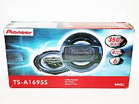 Колонки Pioneer TS-A1695S 16 см (3500W) 2х полосные. Автомобильная акустика. Хорошее качество. Код: КДН1926