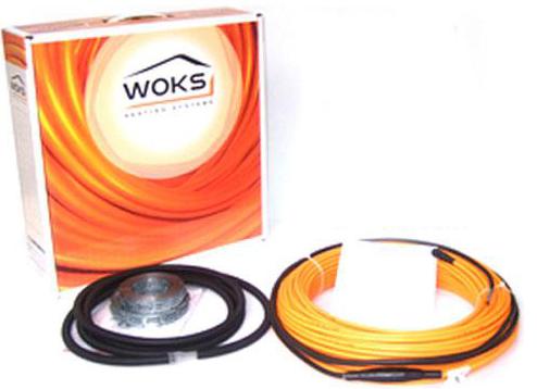 Электрический теплый пол Woks 17, 1350 Вт, площадь обогрева 7,1 — 10,4 м²