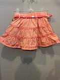 Коттоновая юбка для девочки 122 см, фото 2