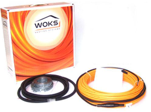 Электрический теплый пол Woks 17, 1500 Вт, площадь обогрева 7,7 — 11,2 м²