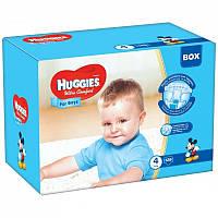Huggies Ultra Comfort 4 (128шт.)7-16кг. для мальчиков (Хаггис Ультра Комфорт)
