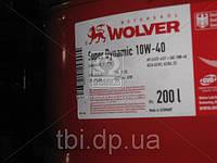 Масло моторное Wolver  Super Dynamic SAE 10W-40 API SJ/CF-4 (Канистра 208л)