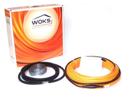 Электрический теплый пол Woks 17, 2400 Вт, площадь обогрева 12,6 — 18,5 м²