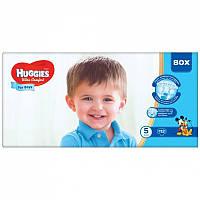 Huggies Ultra Comfort 5 (112шт.)12-22кг. для мальчиков (Хаггис Ультра Комфорт)