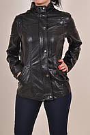 Куртка женская из кожзаменителя демисезонная Holdluck 930 Размер:48,52,56