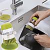 Щетка с емкостью-дозатором для мытья посуды Jesopb