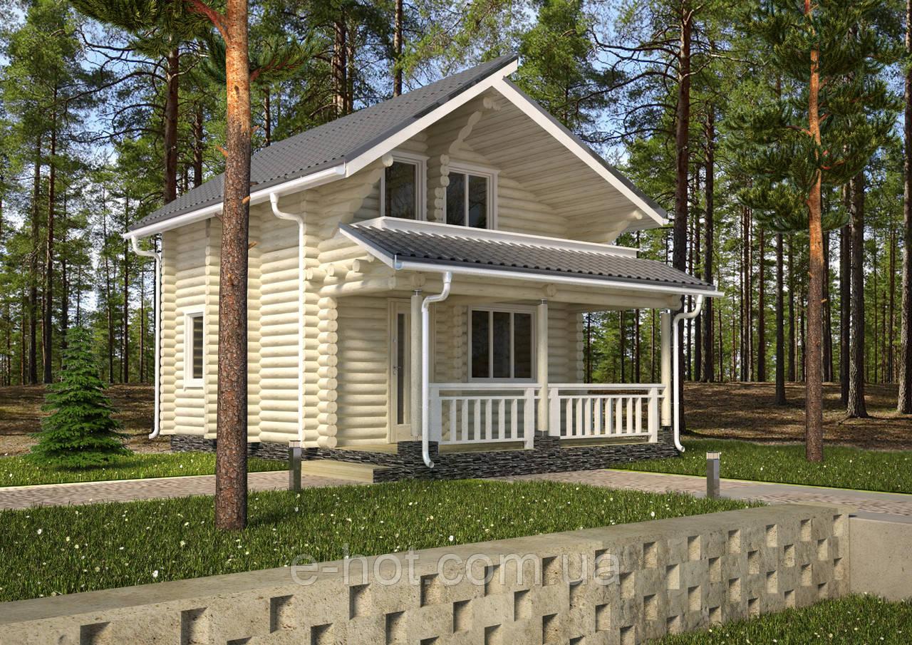 Проект дома, Дом Садовый 78м2