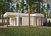 Проекты домов, Дом хай-тек белый шоколад 110м2, фото 5